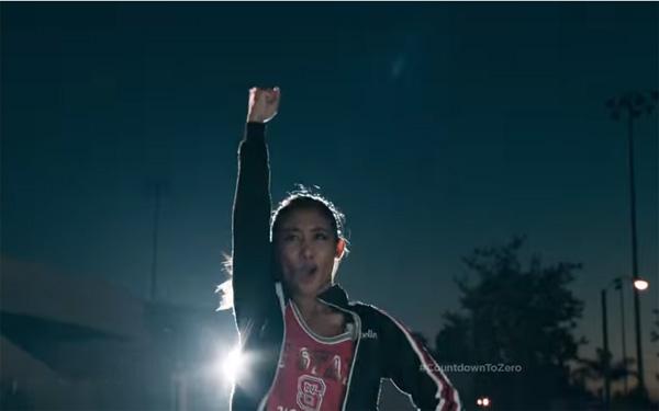 Donnabella Mortel in the COKE ZERO commercial