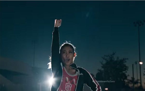 Donnabella Mortel in the COKE ZERO commercial